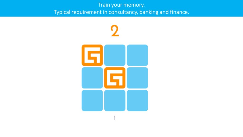 gamified assessment cognitive memory example